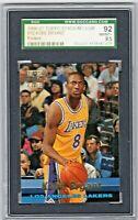 KOBE BRYANT RC 1996-97 Topps Stadium Club Rookies #R12 SGC 92  Lakers Rookie HOF