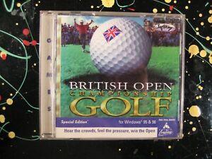British Open Championship Golf Windows 95 / 98 PC Game Softkey CDROM
