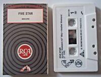 FIVE STAR - ANOTHER WEEKEND 6:13 / 4:12 / 6:18 / 4:54 U Cassette Single BMG 1989