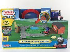 Great Waterton Sir Handel Thomas The Train Take Play Along Playset Mattel 2010