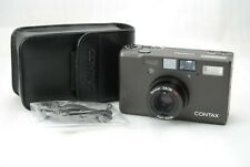 """Near MINT in CASE""Contax T3 Titanium BLACK  35mm SLR Film *Double Teeth* #3820"