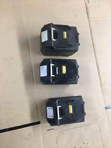 3x Makita Compatible 18V 5.0Ah Lithium-Ion Battery 6.0ah