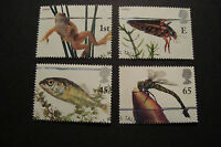 GB 2001  Commemorative Stamps~Pond Life~Very Fine Used Set~UK Seller