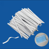 100pcs PE Nose Bridge Strips Wires Bracket Protection for Sewing  DIY Crafts