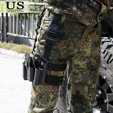 Tactical Right Leg Thigh Gun Holster w/ Magazine Pouch Glock 17 19 22 23 31 32