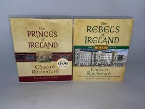 The Dublin Saga:The Rebels of Ireland & Princess of Ireland Edward Rutherfurd F