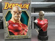 DEATHLOK MINI BUST 1847/4000 RANDY BOWEN MARVEL COMICS Ultra RARE