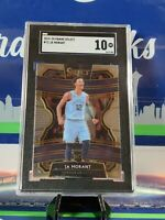 Ja Morant 2019 20 Panini Select Concourse #72 Rookie Card RC SGC 10 Grizzlies 🔥