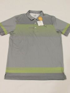 NEW MEN'S PUMA UNTUCKED S/S GOLF POLO SHIRT, SIZE MEDIUM, PICK A COLOR