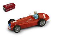 Model Car formula 1 F1 Scale 1:43 Brumm Alfa Romeo 158 Flour Gp diecast