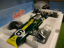 F1 LOTUS 49 # 6 Graham Hill Winner Grand Prix DUTCH 1/18 QUARTZO Q9002 formule 1