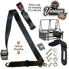 Rock And Roll Bed 3 Point Automatic E Approved Seat Belt Kit Vertical Mount