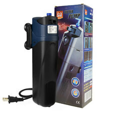 AQUARIUM SUBMERSIBLE 5W UV STERILIZER FILTER BUILD-IN PUMP & UVC PLUG AND PLAY