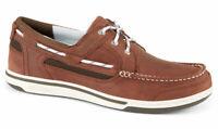 Sebago Triton Three-Eye Deck Boat Shoe Men's 7000GF0/983 Brown/Dark Brown NEW