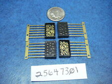Integrated Chip 25647301 Relay IC Device Chip 14 Pin Socket Base Gold Plated
