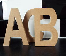 FREE STANDING WOODEN LETTERS. large MDF  wooden letters,numbers (ab!)