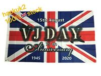 2020 Britain UK VJ Day 75 Years Victory In Japan Flag Military Remembrance Day