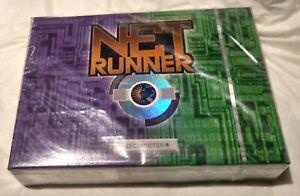Netrunner CCG Deckmaster Starter Double Deck v1.0 Sealed NEW (Cat's Shelter)