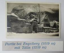 winter partie bei engelberg mit titlis  / verlag rphotoglob co zürich