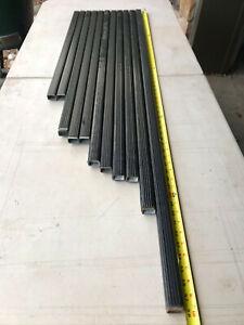 "1 Single Thule LB Roof Rack Square Load Bar 32-78"" w/ End Caps Multiple Sizes 50"