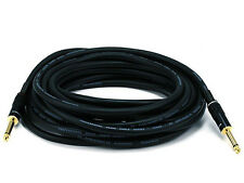 25ft Premier Series 1/4inch (TS or Mono Phono) Male to Male  Audio Cable  5499