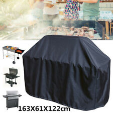 64'' Black BBQ Grill Barbecue Waterproof Cover Yard Outdoor Duty Rain  UK I