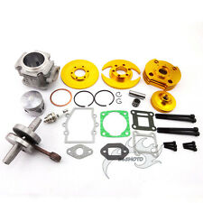 Gold 44mm Big Bore Kit Cylinder Piston Head 47cc 49cc Mini ATV Dirt Pocket Bike