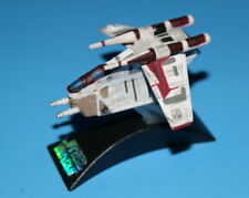 STAR WARS REPUBLIC GUNSHIP CLOSED DOORS TITANIUM SERIES LOOSE COMPLETE