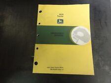 John Deere 4630 Tractor Operators Manual Om R65495 Issue L6