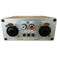 LA-2PLUS Audio Signal Isolator Speaker Audio Noise Isolator Aluminum Housing szt