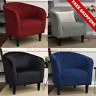Contemporary Accent Chair Fabric Tub Sofa Living Room Seat Modern Club Furniture
