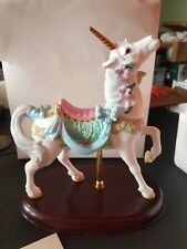 LENOX THE CAROUSEL UNICORN The Carousel collection 24 Karat Gold Embellished