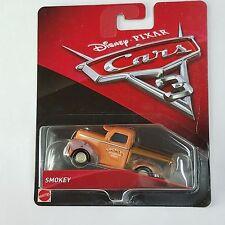 Disney Pixar Cars 3 Smokey Smokey's Automotive Service Diecast Mattel 1:55 Scale