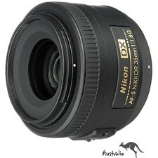 5YR AU WTY☆FREE POSTAGE☆Nikon AF-S Nikkor 35mm f/1.8 G DX Wide Angle Lens