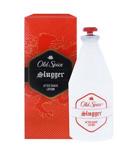 3 x Old Spice Slugger Aftershave Lotion für Männer je 100ml Rasierwasser