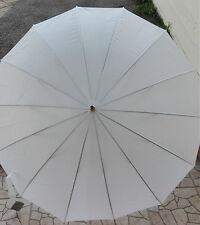 Ombrello da sposa MATRIMONIO bianco  wedding feste... lunghezza  94CM