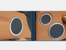 Steel Matte Door Inner Speaker Cover Trim Frame 6pcs For BMW X5 E70 2008-2013