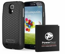 PowerBear S4 6000mAh Extended Battery Case Samsung Galaxy Black