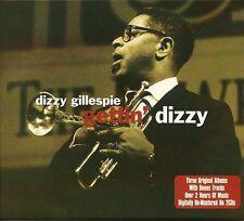 DIZZY GILLESPIE GETTIN' DIZZY - 2 CD BOX SET - JORDU, BIRK'S WORKS & MORE