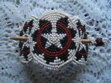 Beautiful Handcrafted Beaded Hair Barrette and Stick