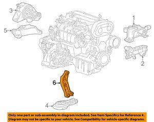 Chevrolet GM OEM 12-18 Sonic-Transmission Mount Bracket 96852643
