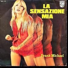 FRANK MICHAEL 45 TOURS BELGIQUE DEDICACE