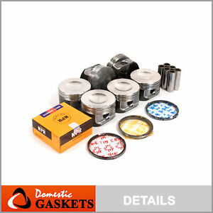Fits 96-04 Ford Mustang Thunderbird Windstar Cougar 3.8 OHV Pistons and Ring Set