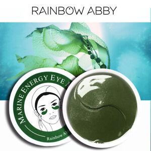 RAINBOW ABBY 60 Piece Marine Energy Anti Ageing Eye Mask Wrinkle Bag Remo