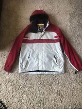 Bonfire fusion c10 snowboarding jacket mens size xl red