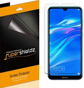 [6-Pack] Supershieldz Clear Screen Protector Saver for Huawei Enjoy 9