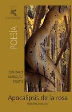 Apocalipsis de la Rosa by Gonzalo Cristo (2010, Paperback)