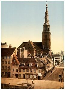 Church of Our Saviour (Vor Frelsers Kirke) Copenhagen Denmark ca. 1890