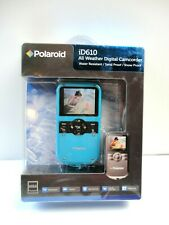 New Polaroid iD610- Blue All Weather Digital Camcorder Sealed