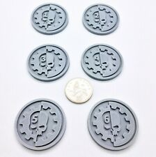 X6 Hex Raven Guard Objective Markers Gaming Wargames Ravenguard 40k NEW ✅